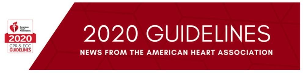 Linee Guida AHA 2020